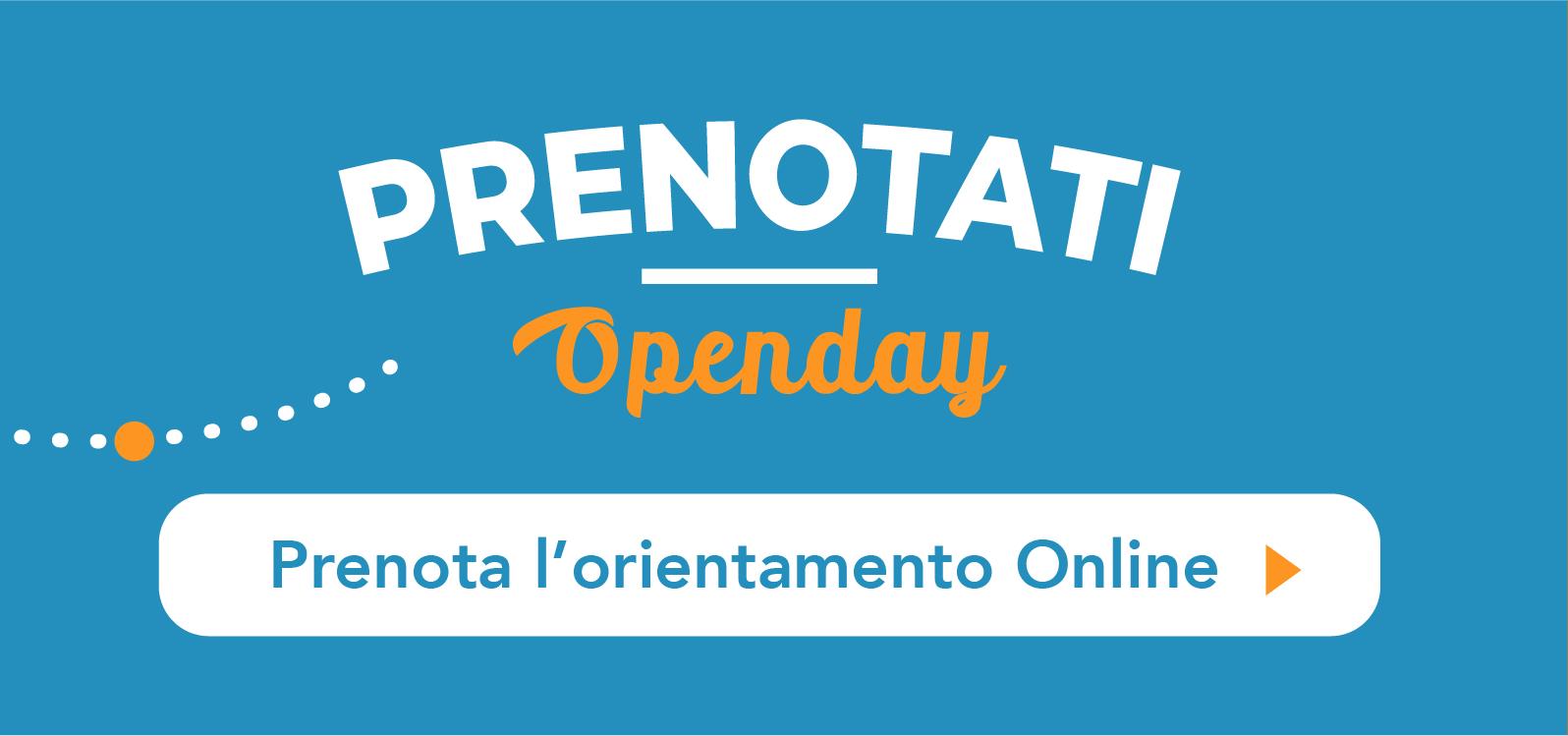 Prenota Openday