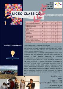 Brochure Liceo Classico